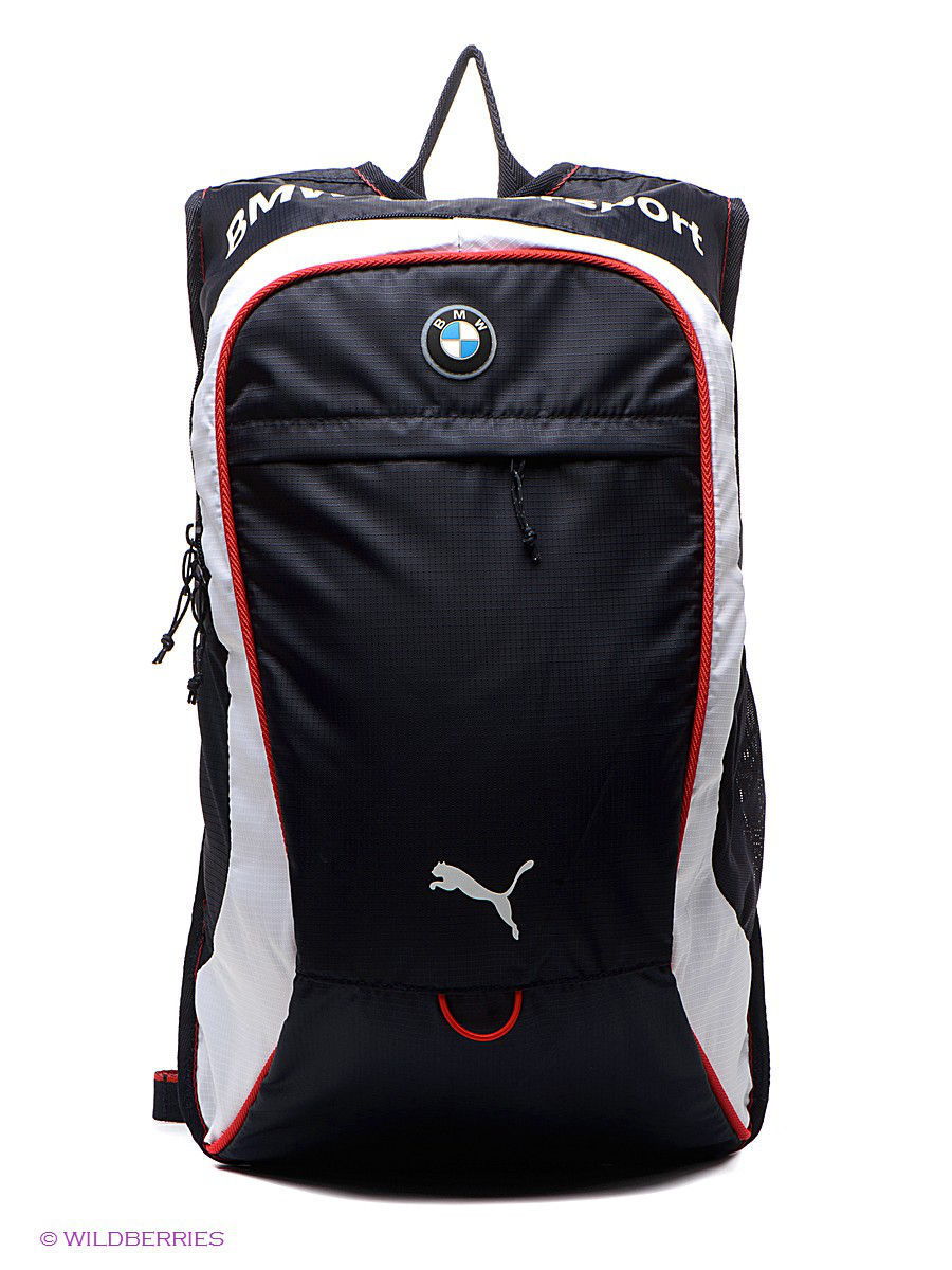 bmw motorsport backpack puma 1442446. Black Bedroom Furniture Sets. Home Design Ideas
