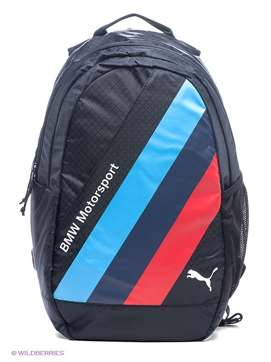 bmw motorsport backpack puma 1956684. Black Bedroom Furniture Sets. Home Design Ideas