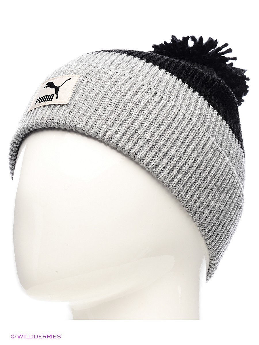 Шапка Pom Pom Beanie PUMA 2196536 в интернет-магазине Wildberries.ru 00309cf746f