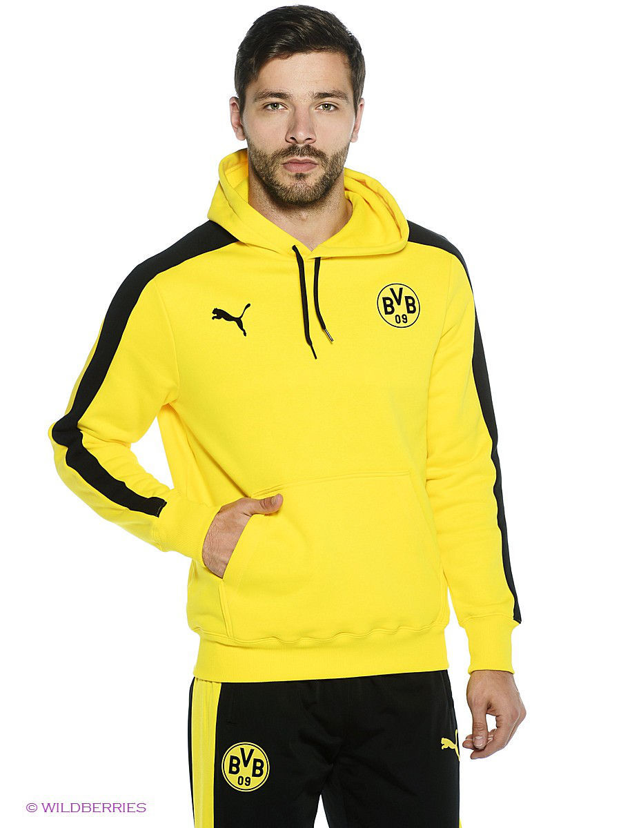 ea1cddf10cea Худи BVB T7 Hoody PUMA 2294820 в интернет-магазине Wildberries.ru