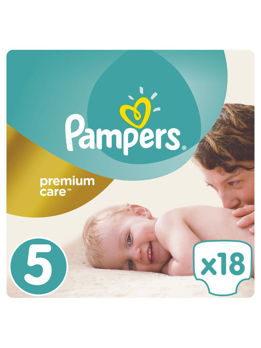 5a57e50d64b5 Подгузники Pampers Premium Care 11-18 кг, 5 размер, 18 шт Pampers ...