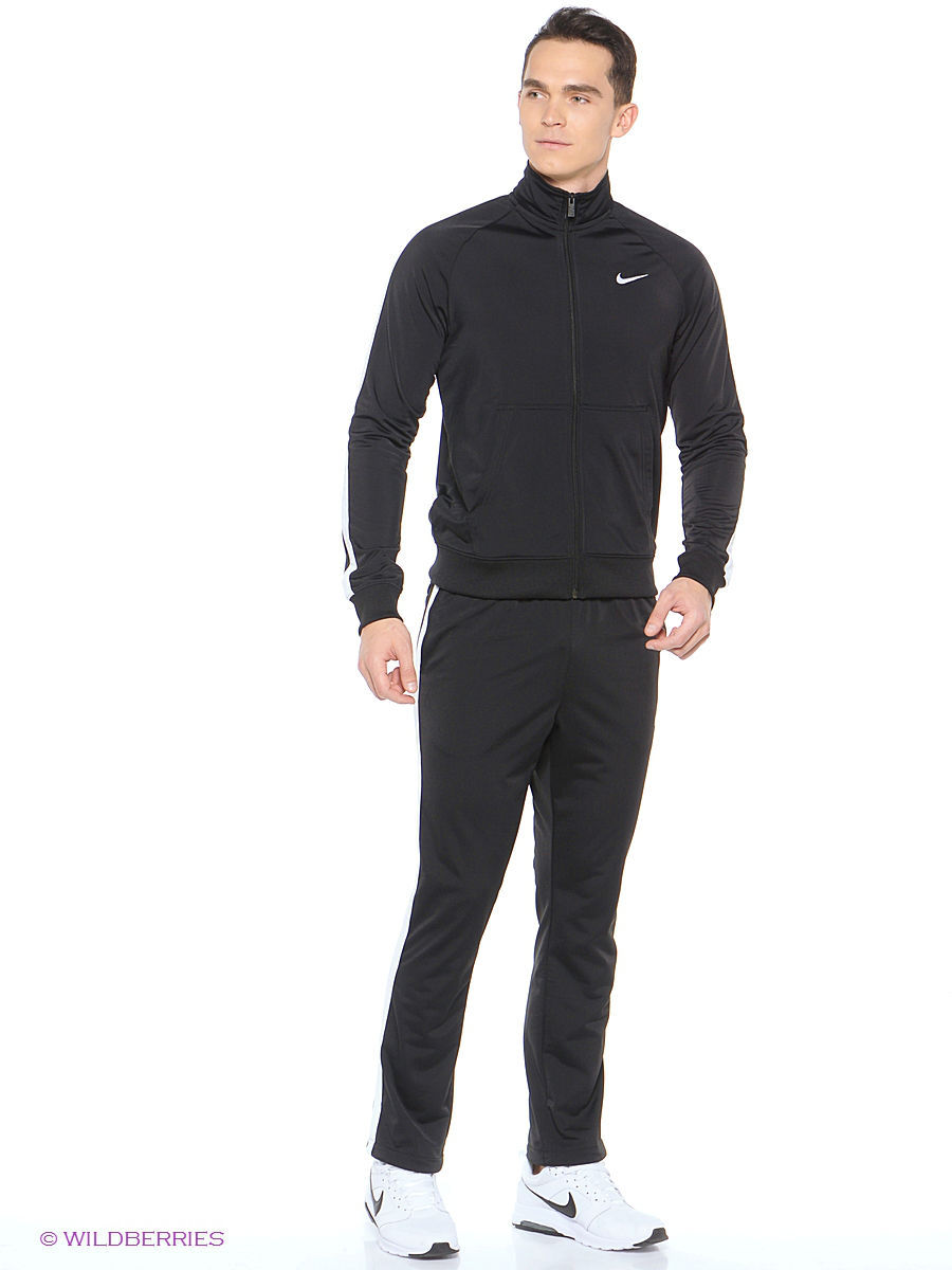 Костюм NIKE SEASON POLY KNIT TRK SUIT Nike 2637736 в интернет ... e456e9b5224