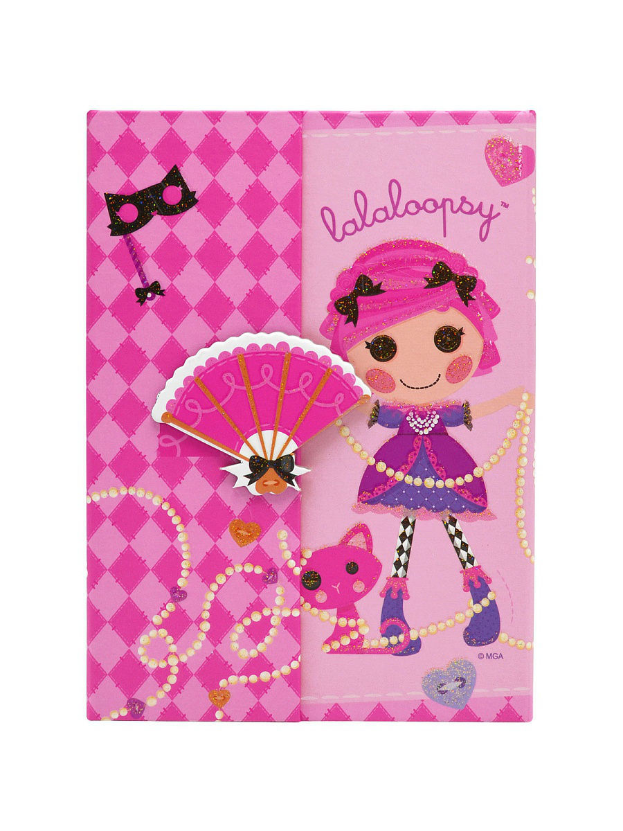 Блокнот Action Lalaloopsy A5 12 листов LL-FN64/4127 LL-FN64/4127