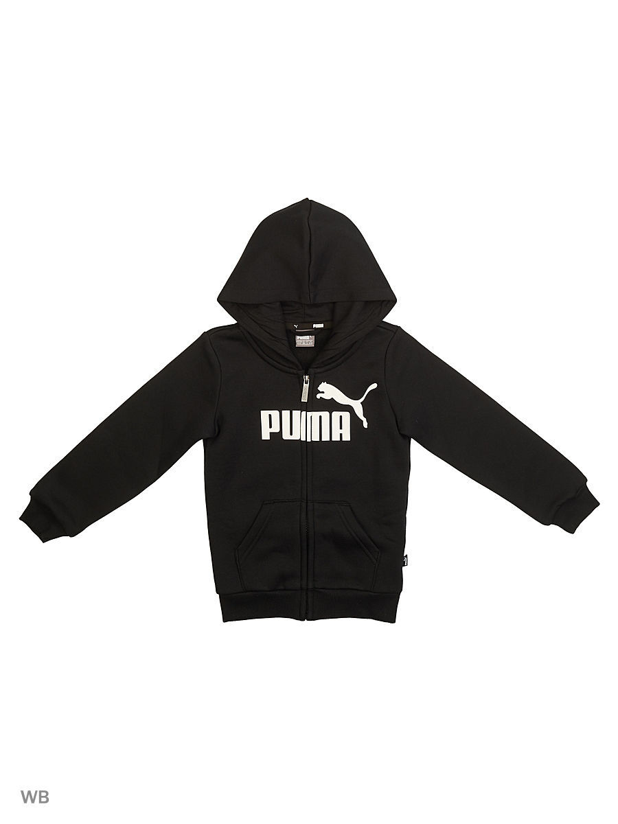 Толстовка Essentials Hooded Jacket B PUMA 6036230 в интернет ... 03cf79152a3