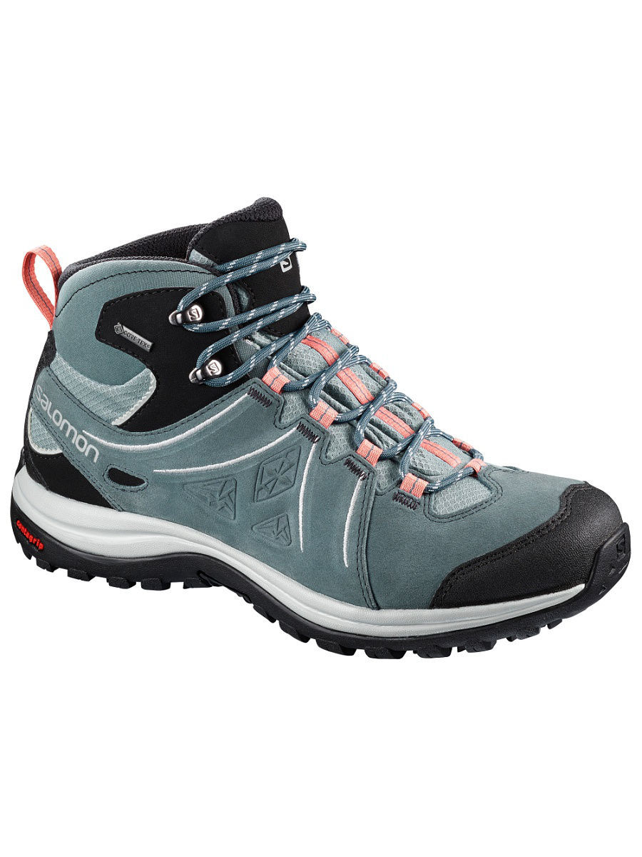 salomon ellipse 2 gtx light trail shoes - women's tail