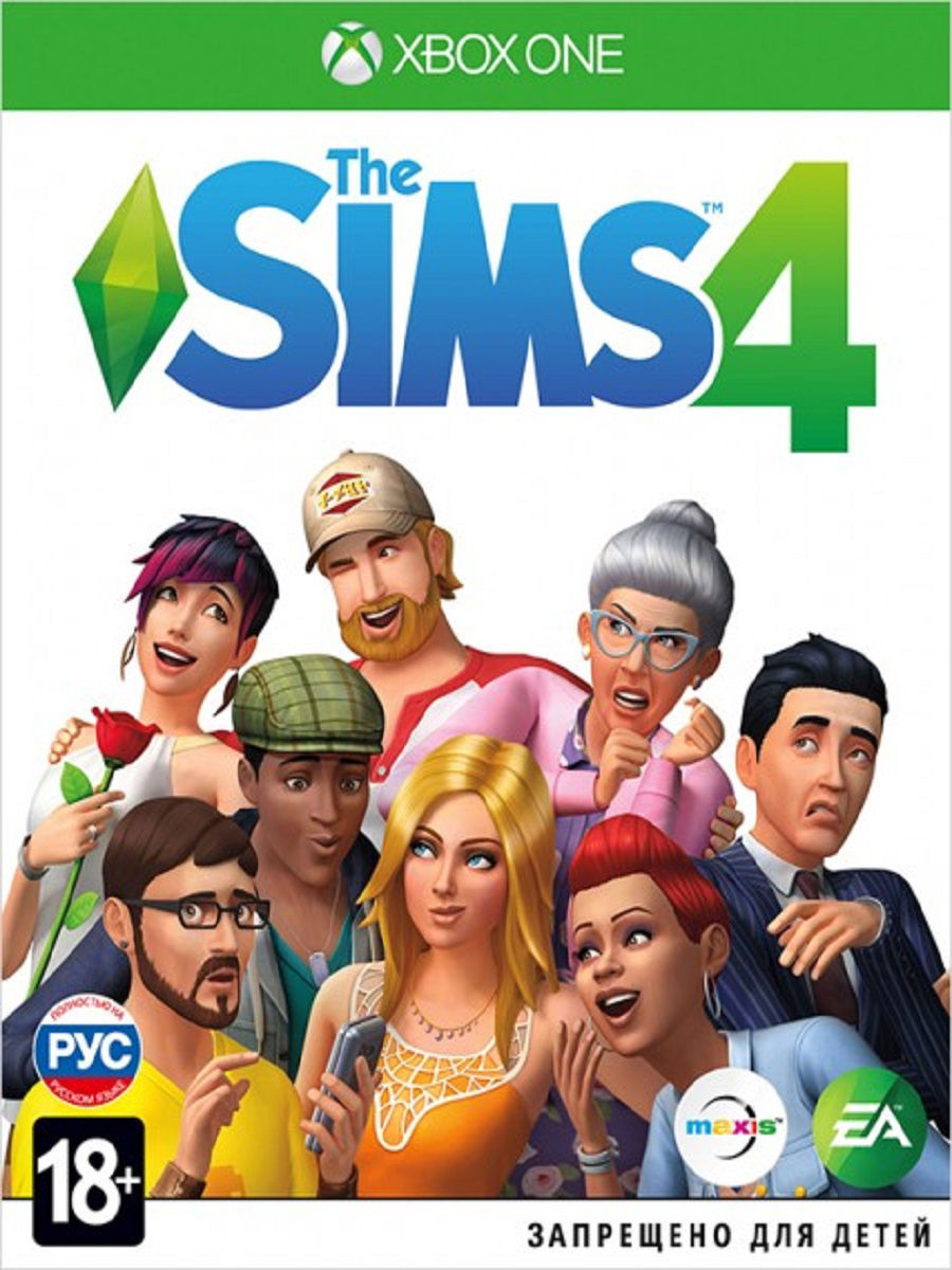 Sims 4 [Xbox One, русская версия], Electronic Arts