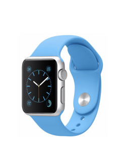 Strap for smart watches, silicone, Apple Watch 38mm, Apple Watch 40mm QNQ