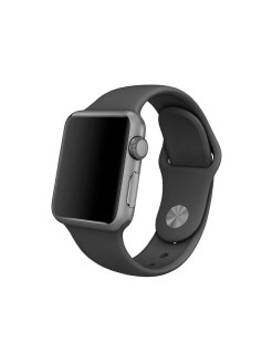 Strap for smart watches, silicone, Apple Watch 42mm, Apple Watch 44mm QNQ