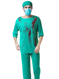 Blood Surgeon Costume La Mascarade