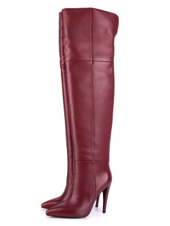 Over-the-knee boots Angelina Voloshina