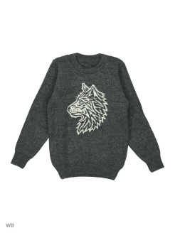 "Woolen sweater ""White Wolf"" NORVEG"