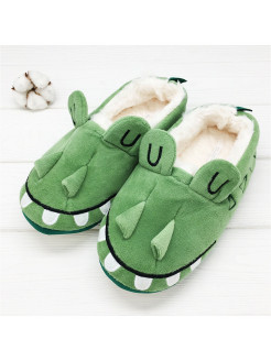Crocodile slippers with back Halluci