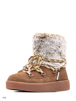 Fur high boots PEPE JEANS LONDON
