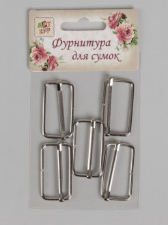 Regulating buckles - 5 pcs. Арт узор