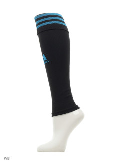Гетры TEAM SLEEVE 18      BLACK/BOAQUA adidas