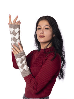 Fingerless gloves ozozylo snow