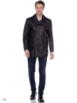 Бушлат кожа SCHOTT Leather Naval Pea Coat 140 SCHOTT N.Y.C.