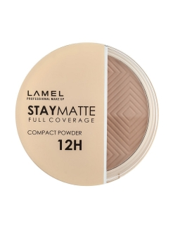 Пудра для лица Stay Matte Compact Powder, 404 beige Lamel