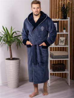 Bathrobe, embroidery, cant VIEN