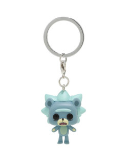 Брелок Funko Pocket POP! Keychain: Rick & Morty: Teddy Rick 44747-PDQ Funko