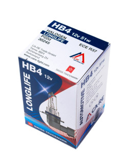Галогенная лампа HB4 CA-RE Halogen Bulb 12V 51W P22d Longlife CA-RE
