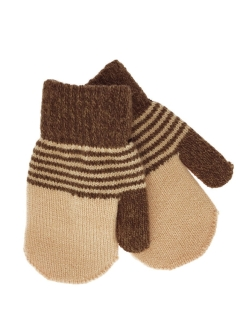 Mittens, without elements, insulated, knitted HOBBY LINE