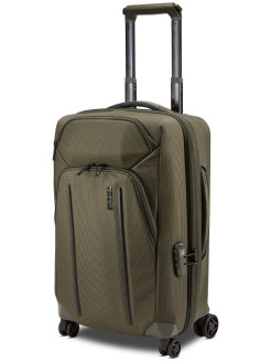 Thule Crossover 2 Expandable Carry-on Spinner 4-Wheel Suitcase Green Thule
