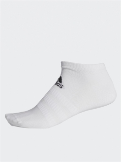 Носки LIGHT LOW 1PP       WHITE/WHITE/BLACK adidas