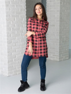 Check Knit Shirt Шарлиз