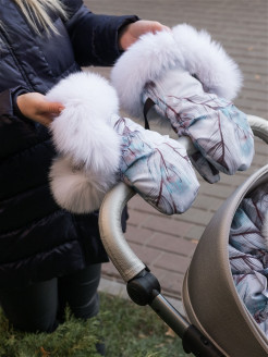 Couplings for strollers with fur НаследникЪ Выжанова