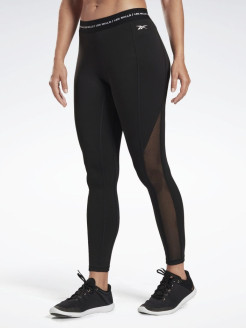 Леггинсы LM High Rise Tight  BLACK Reebok