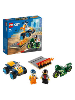 Конструктор LEGO City Nitro Wheels 60255 Команда каскадёров LEGO
