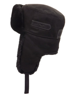 Hat with ear flaps R&V