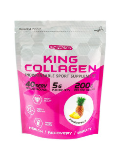 King collagen, 200гр, pineapple (Ананас) pineapple King Protein