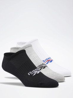 Носки CL FO Invisible Soc WHITE/MGREYH/BLACK Reebok