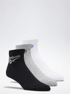 Носки CL FO Ankle Sock 3P WHITE/MGREYH/BLACK Reebok