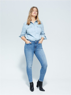 Jeans, narrowed Violeta by Mango