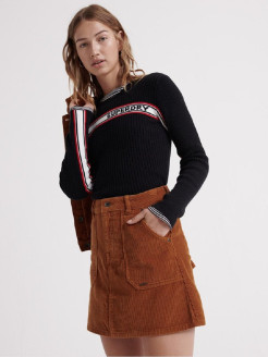 Юбка CORD A-LINE SKIRT Superdry