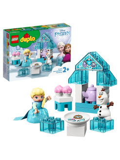 Конструктор LEGO DUPLO Disney Princess 10920 Чаепитие у Эльзы и Олафа LEGO