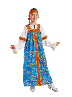 "Russian folk costume ""Masha color"" Gala-Вальс"