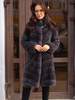 Natural fur coat АКАДЕМИЯ МЕХА