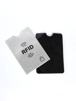 Credit Card Case with RFID Protection, 2pcs.