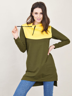 Tunic with zipper suitable for nursing mothers Donatello Viorano