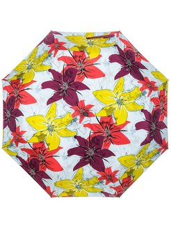 "Umbrella ""Lilies Bordo"" RainLab"