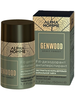 Дезодорант антиперспирант ALPHA HOMME GENWOOD для тела, 50 мл ESTEL PROFESSIONAL