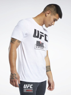Футболка UFC FG FIGHT WEEK T WHITE Reebok