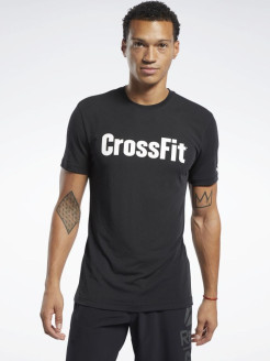 Футболка RC CrossFit Read Te BLACK/WHITE Reebok