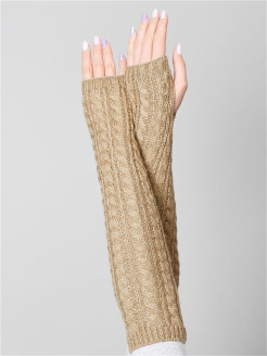 Fingerless gloves Pittards.