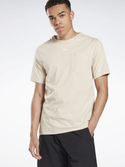 Футболка LM Pocket Tee       STUCCO Reebok