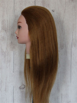 Mannequin for a hairdresser, natural, female, 65 cm Zakolkoff